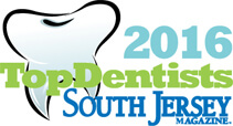 SJ Magazine 2016 Top Dentists in mt laurel