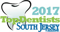 SJ Magazine 2017 Top Dentists in mt laurel
